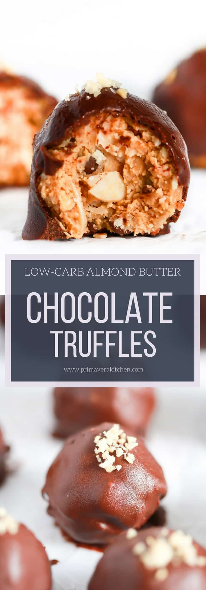 Low-carb-almond-butter-chocolate-truffles Primavera Kitchen