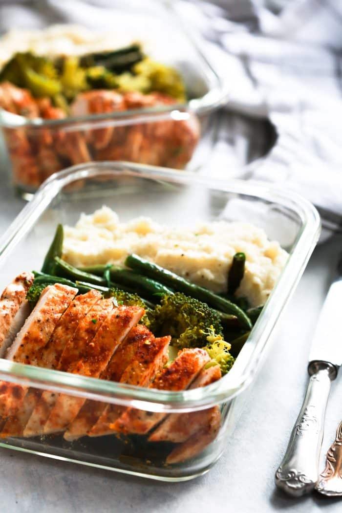 Spicy Chicken Meal Prep Bowls Primavera Kitchen