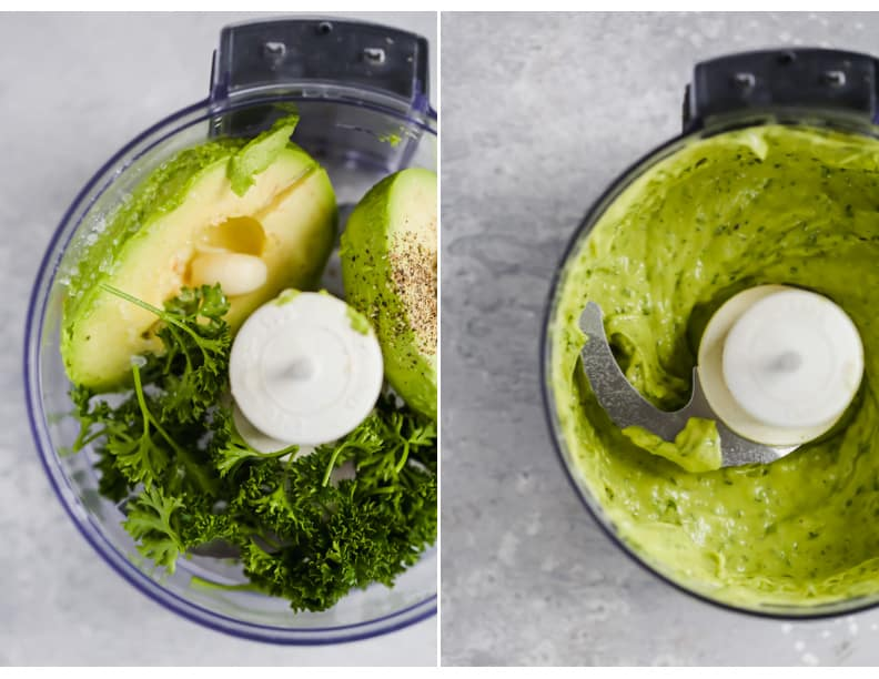 Whole30 Creamy Avocado Sauce Primavera Kitchen