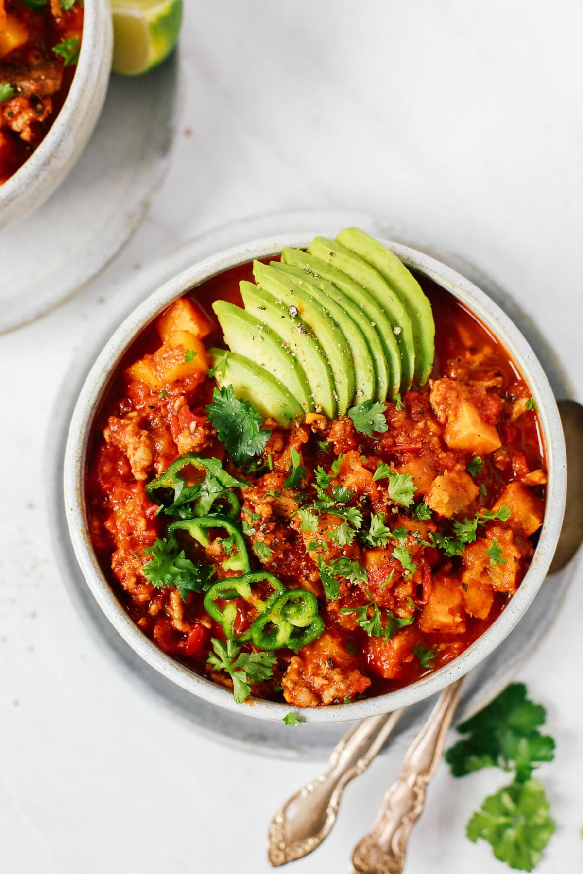 Whole30 Sweet Potato Chili