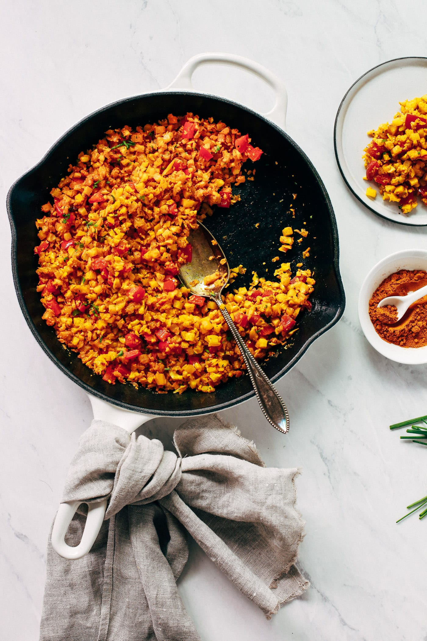 Golden Cauliflower Rice Recipe