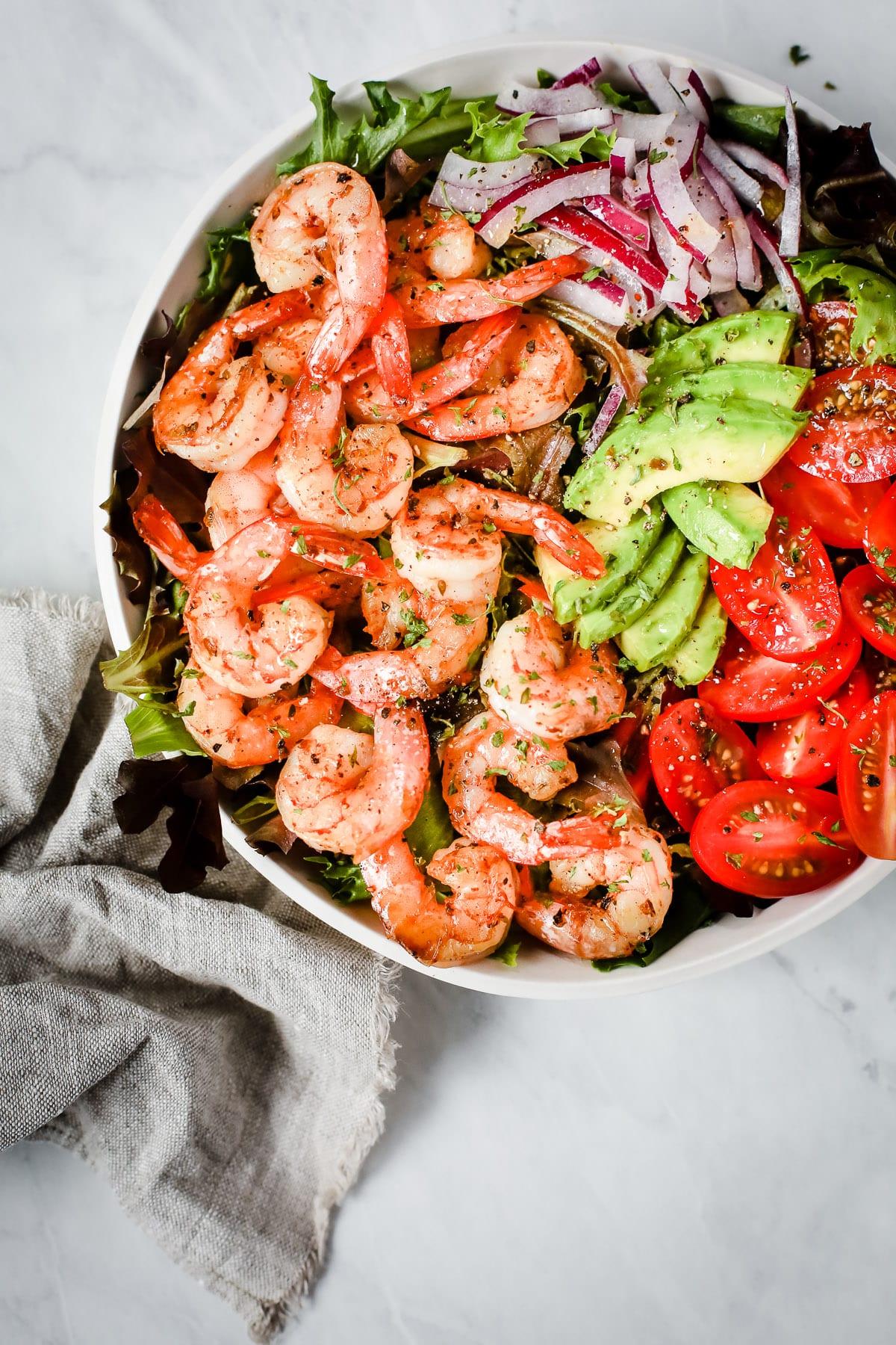 Shrimp Tomato Salad Primavera Kitchen