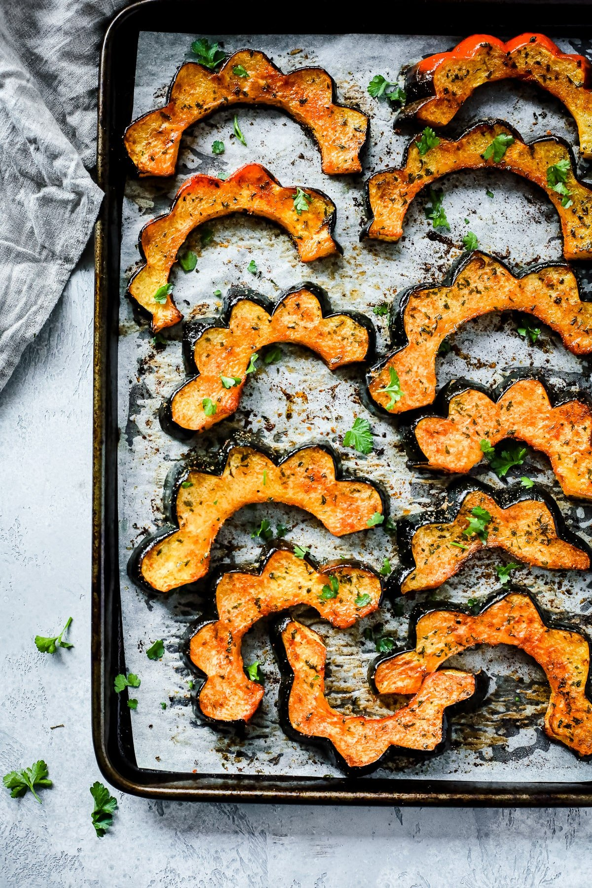 How to make winter squash in the oven