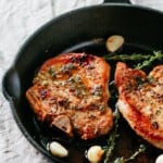 Garlic Butter Baked Pork Chops.