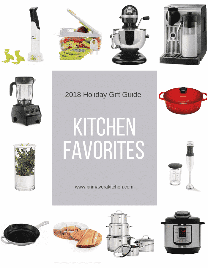2018 Holiday Gift Guide: Kitchen Favorites