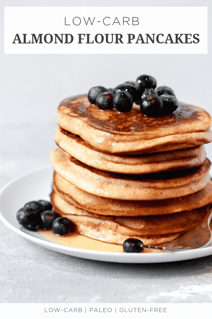 Low-carb Almond Flour Pancakes
