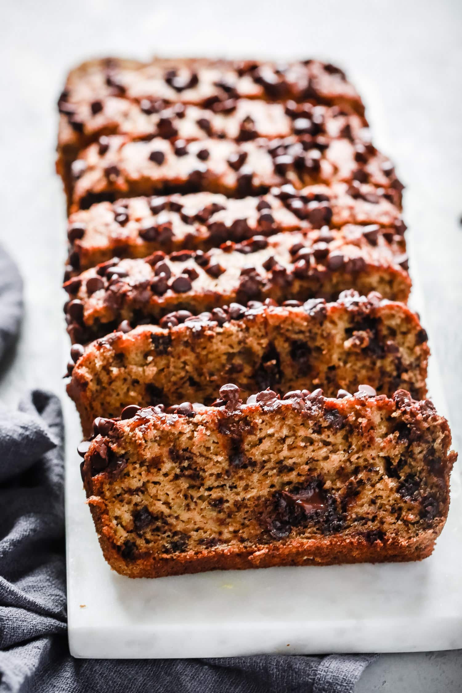 Paleo Chocolate Chips Almond Flour Banana Bread