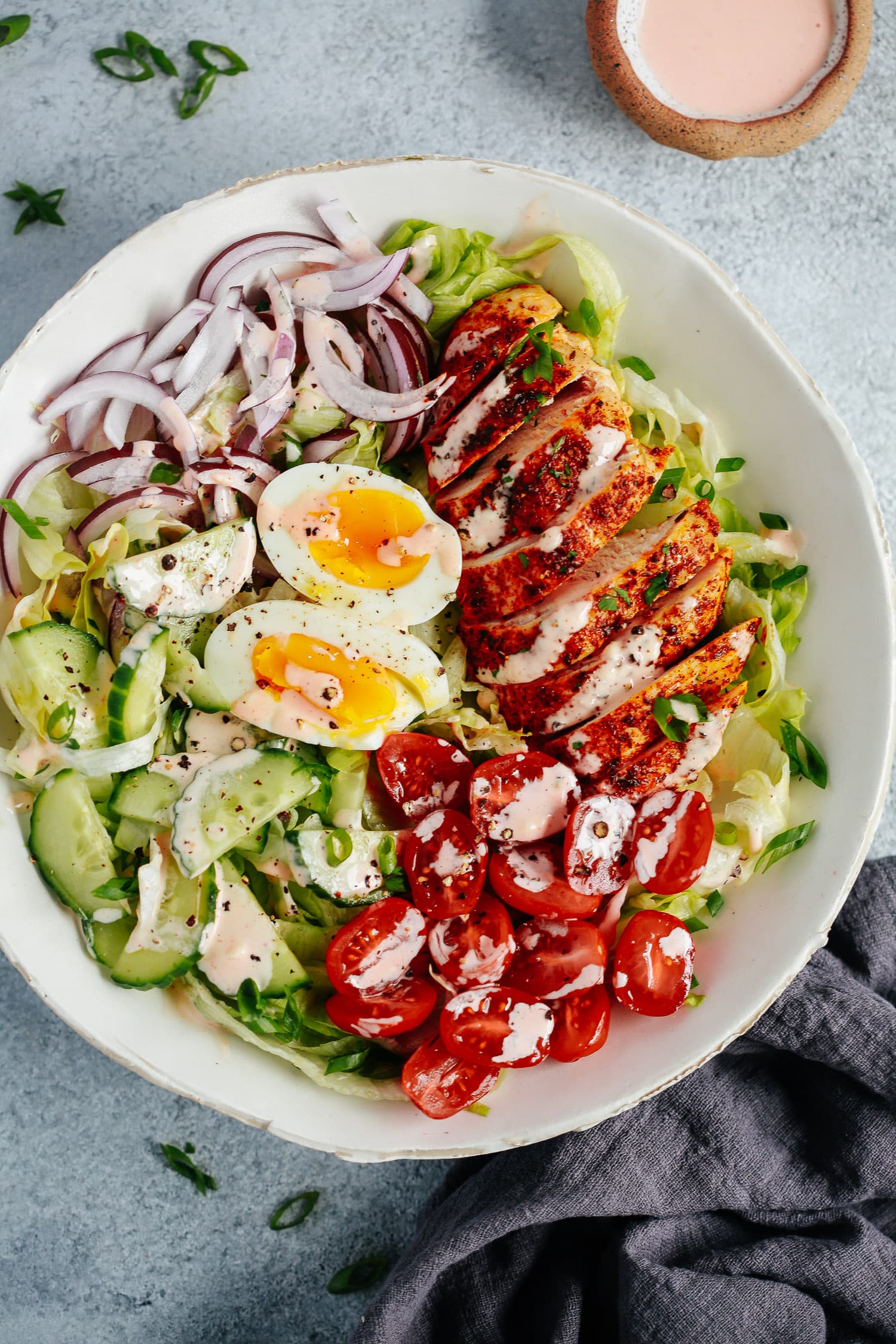 Chicken Salad with Spicy Mayo Dressing