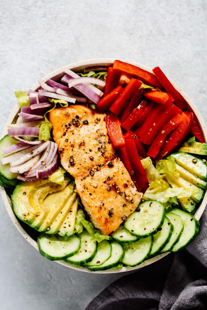 Easy Salmon Salad Recipe Healthy Lunch For Busy Days