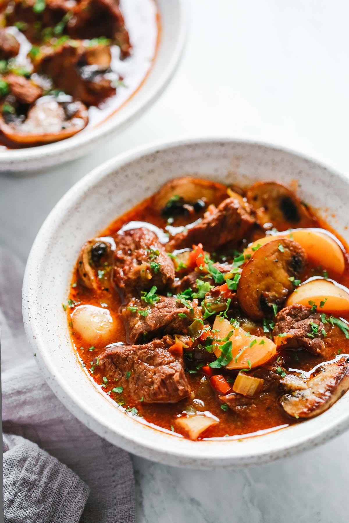 Instant Pot Beef Stew Recipe (Whole30 & Paleo)