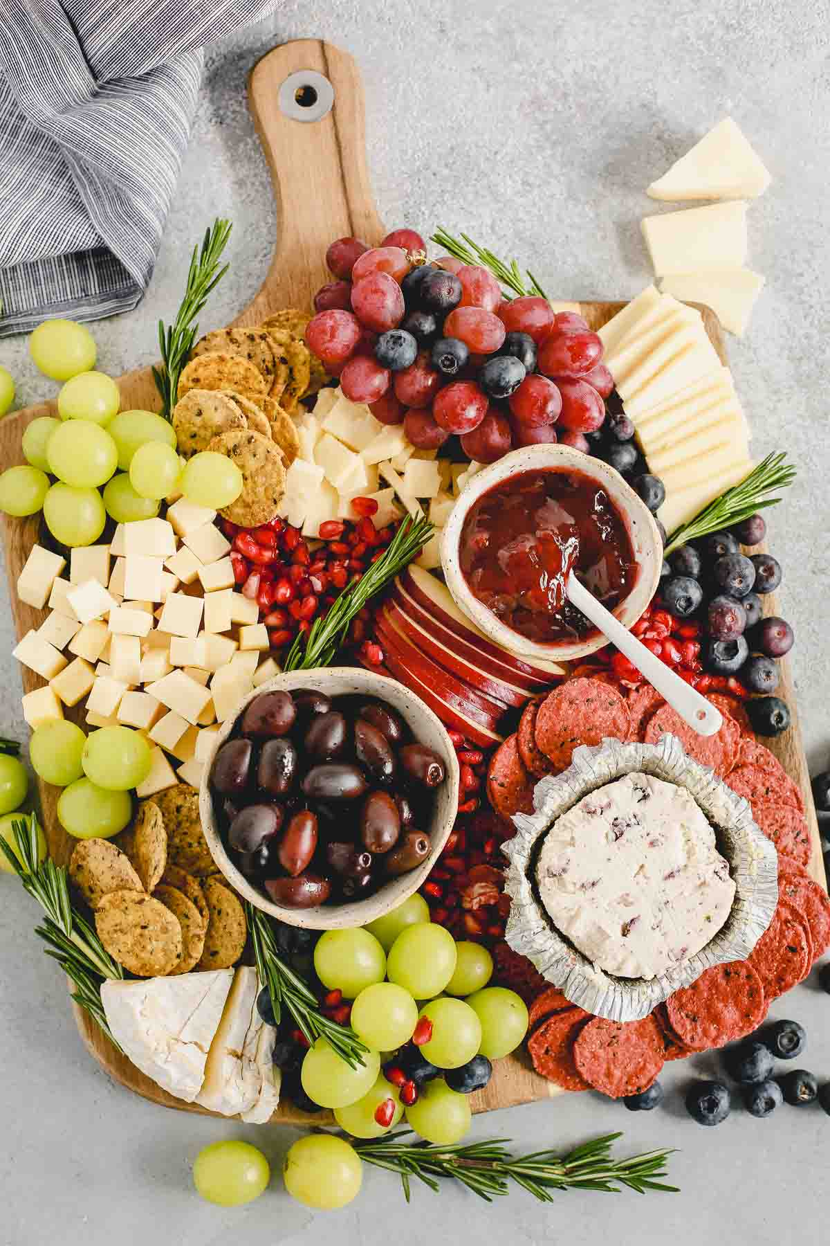 Holiday Cheese Board Perfect For The Holidays Or Everyday Entertaining