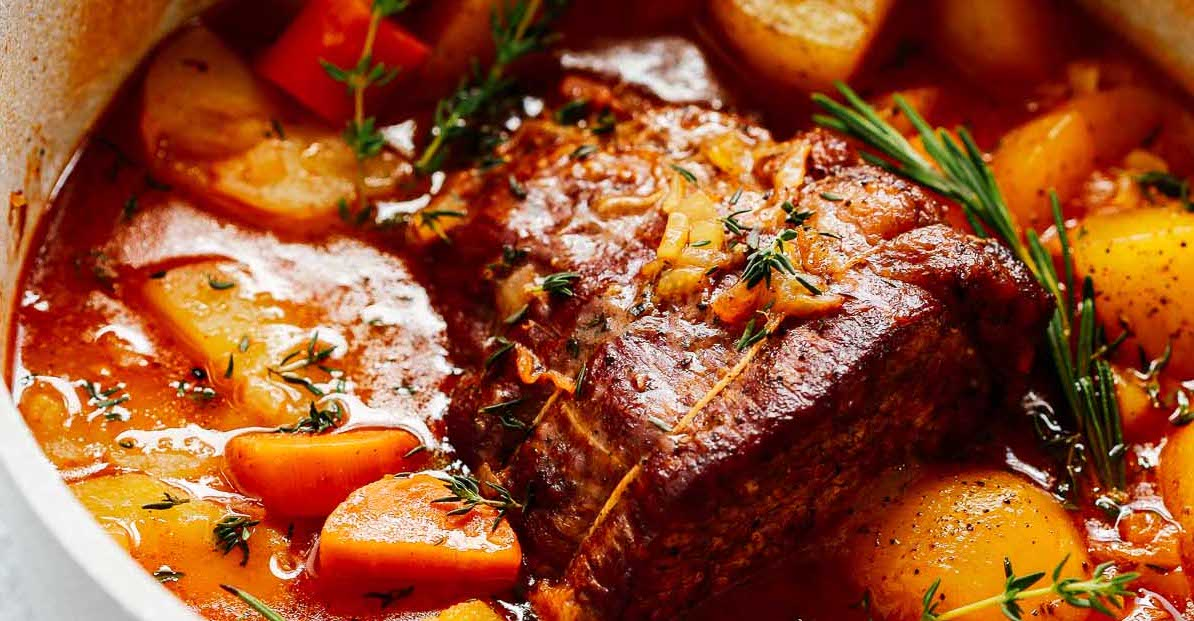 Whole30 Pot Roast Recipe This Is Absolutely Delicious