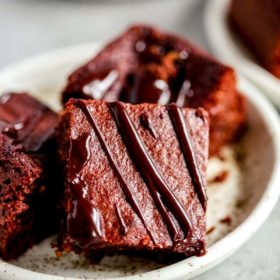 plate of keto chocolate bars